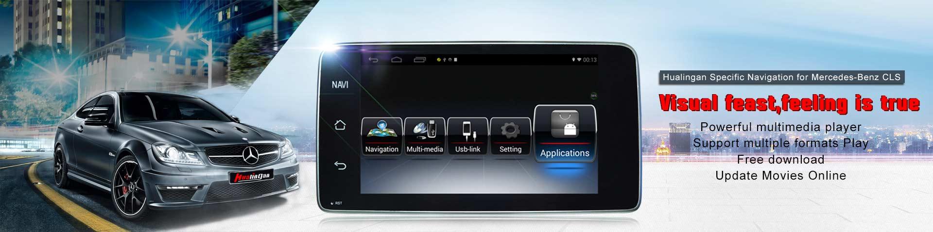 BENZ C dvd navigation