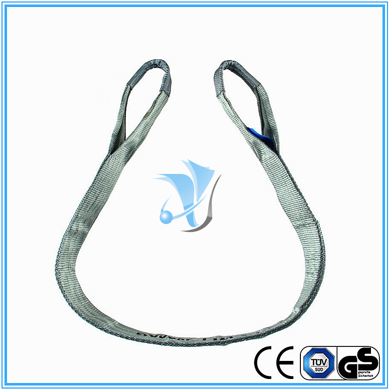 4000kg Polyester Webbing Slings Eye-Eye Type to EN1491-1