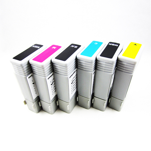 6pcs/lot Compatible130ml PFI-102 Pigment Ink Cartridge for Canon IPF 510/610/710 Printer