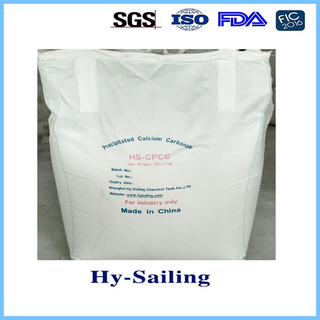 Calcium carbonate for cigarette paper