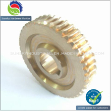 High Precision and High Efficiency Brass Gear 2561