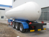 3 Axles LPG Tanker Semi Trailer