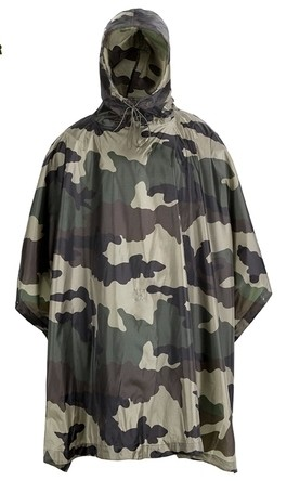High Qualty Military CE Camo Waterproof Poncho