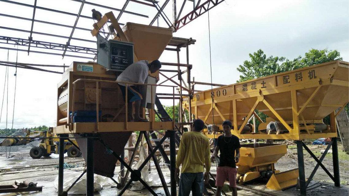 QTY4-15 block machine in Philippines (13)