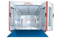 Water Based Car Spray Booth For Sale
