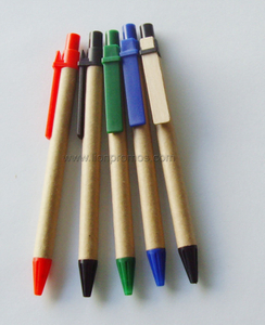 Eco Friendly Green Products Recycled Paper Ball Pen