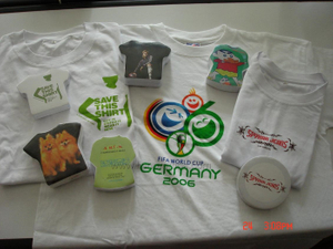 World Cup Sports Game Souvenir Cotton Compressed T Shirt