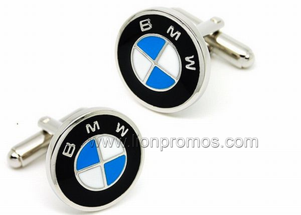 Personalized Made Logo Branded Zinc Alloy Cufflink