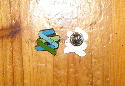 Standard Chartered Bank Logo Metal Staff Lapel Pin