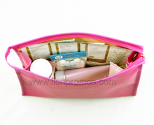 Simple Design Cosmetic Bag with Makeup Mirror