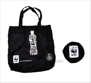 Government&NGO Gift Polyester Folding Up Shopping Bag