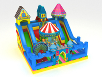 Big Commercial Inflatable Ferris Wheel Theme Funcity Playground for Kids