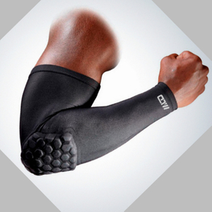 Kawang Sports Protective Elbow Support Nylon Spandex Hand Pad Breathable Arm Sleeve to Avoid Injury