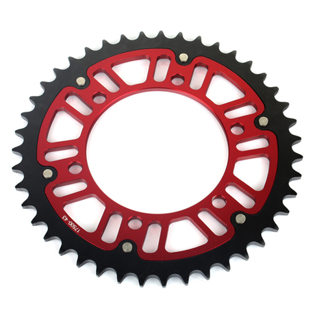 Twin Ring Motorcycle Rear Sprocket