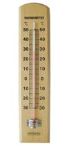 CF308-3 Wooden Thermometer