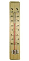 CF308-10B Wooden Thermometer