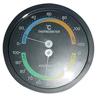 SP-X-4WS(BLACK) Household-use Thermometers Hygrometer