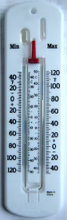 LX-107 Maximum & Minimum Thermometer