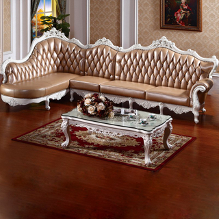 806 Wood Leather Sofa From Chinese Furniture Factory