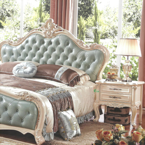 Wood Bedroom Bed for Bedroom Furniture Set