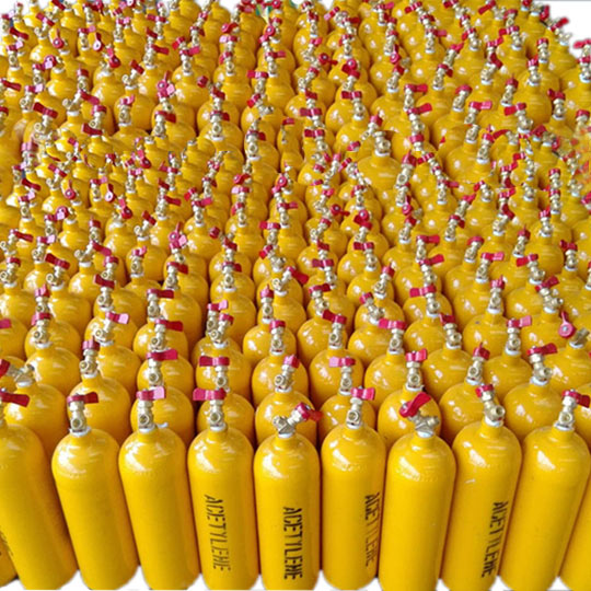 Portable Steel Acetylene Cylinders 2L - CBM Technologies