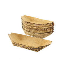 225mm Bamboo Leaf Sushi Boat