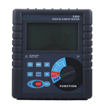 Digital Earth Resistance Tester ST-3000