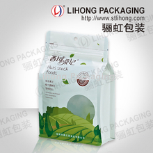 Eight Side Seal Standing Zipper Bag with Transparent Window