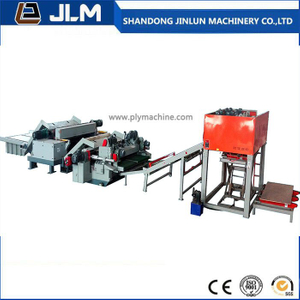 Automatic CNC Control Plywood Veneer Peeling Line From China