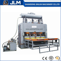 Short Cycle Melamine Hot Press Machine for The Plywood Film Face Veneer