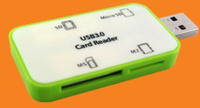 46 in 1 USB 3.0 Card Reader Style No. CR-304