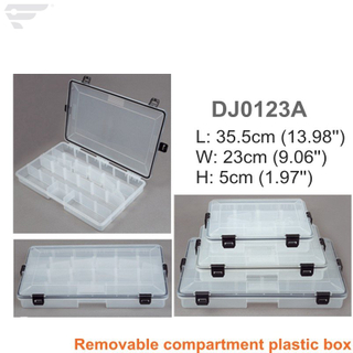 DJ0123 Adjustable Storage Home Organized Clear Box