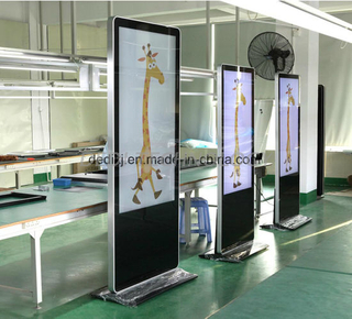 "Dedi 43""55""65""Touch Screen Signage Floor Standing Interactive Kiosk Display Totem"