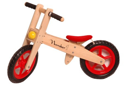 Kids Wooden Bike Toys