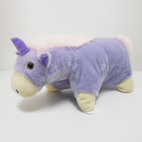 Cute Stuffed Plush Animal Baby Unicorn Pillow