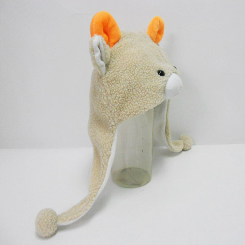 Soft Plush Toy Goat Winter Hat for Kids