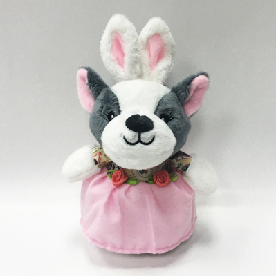 Factory supply custom Hot sale plush toy rabbit dressd wolf