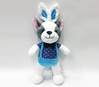 New Design Plush Dogs Toy Animals Stuffed With Rabbit Ear