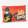Custom Factory OEM Soft Plush Leopard Pillow