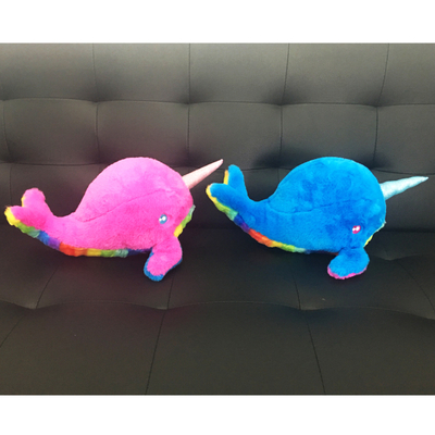 Newest Colorful Unicorm Dolphin Sea Animal Plush Kids Toy