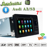 carplay car dvd player audi a3 s3 android 7.1 gps navigation flash 2+16G