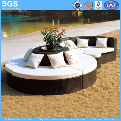 Leisure Furniture OEM Combination Rattan Sofa