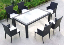 Patio Garden Dining Set Rattan Furniture