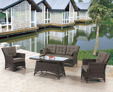 Garden Patio Wicker / Rattan Sofa Set - Outdoor Furniture (LN-2135)
