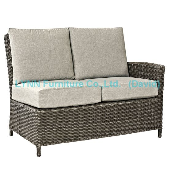 Garden Chair Left Part Wicker Corner Sofa