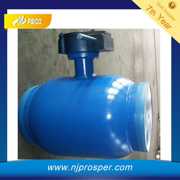 API full welded ball valve