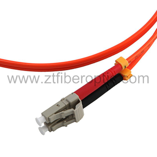 Multimode Duplex LC Fiber Connector
