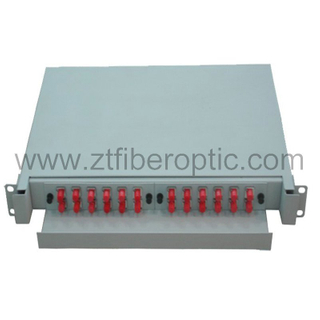 Rack Mount 24fiber Fiber Optic Distribution Box