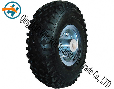 Pneumatic Rubber Wheel Used on Hand Truck (10*3.50-4)