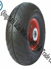 "Pneumatic Rubber Wheel for Hand Truck Tire (10""X3.00-4)"